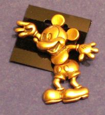 Buy Disney Mickey Mouse Pin/Broach (Disney Logo Stamped)