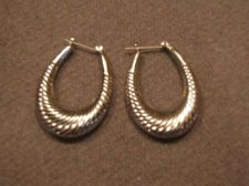 Buy Sarah Coventry Jewelry Silver Pierced Earring #1329