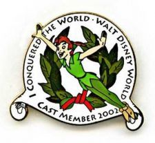 Buy Disney WDW - I Conquered The World Cast Member Exclusive Peter Pan pin/pins