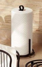 Buy Tissue Holder Stand Rack Bronze Toilet Paper Towel Dispenser Tower Dining Table