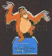 Buy Jungle Book King Louie orangutan monkey full body Event Disney Authentic pin