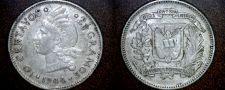 Buy 1944 Dominican 10 Centavo World Silver Coin - Dominican Republic