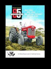 Buy MASSEY FERGUSON MF 65 GAS & DIESEL TRACTOR MANUALS 160pg Operation & Maintenance