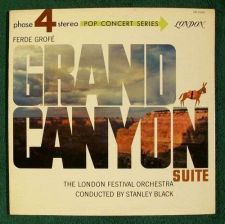Buy Ferde Grofe ~ GRAND CANYON SUITE Stanley Black Classical LP