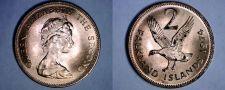 Buy 1974 Falkland Islands 2 Pence World Coin - Upland Goose