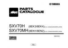 Buy Yamaha B8EK100E SXV70H Waverunner Parts & Views by download Mauritron #344073