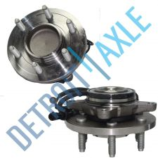 Buy Pair of 2 NEW Front Driver and Passenger Wheel Hub and Bearing Assembly ABS RWD