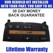 Buy LS400 SC300 SC400 CLIMATE CONTROL REPAIR SERVICE NEW LCD & BULBS READ LISTING