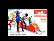 Buy MOTOSKI MOTO SKI 1965-1973 SNOWMOBILE PART MANUALs 1966 1967 1968 1969 1970 1971