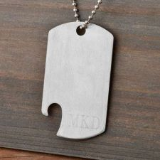 Buy Dog Tag Bottle Opener