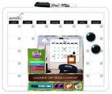 Buy 11x14 Plastic Framed Magnetic Calendar Whiteboard Marker Office Presentation Dra