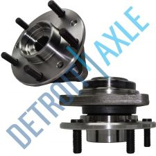 Buy Pair of 2 NEW Front/Rear Driver and Passenger Wheel Hub and Bearing w/o ABS
