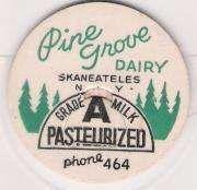 Buy New York Skaneateles Milk Bottle Cap Name/Subject: Pine Grove Dairy Grade ~221