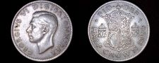 Buy 1950 Great Britain 1/2 Crown World Coin - UK - England