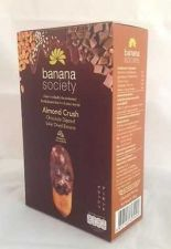 Buy DRIED BANANA ALMOND CRUSH CHOCOLATE DIPPED SOLAR 180 GRAM THAILAND