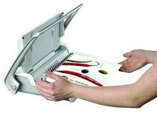 Buy Sheets Paper Binding Machine Punches Comb Office Document Thickness Gift Grey W/