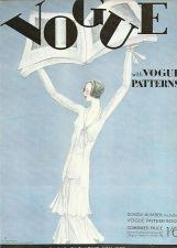 Buy Vogue 1930 Cover Print Vogue Patterns by Lepape Art Deco 1984 original print