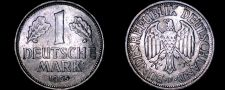 Buy 1955 F German 1 Mark World Coin -West Germany