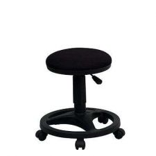 Buy Foot Ring Chair Furniture Ergonomic Home Office Stool Fabric Seat Adjustment New