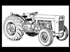 Buy MASSEY FERGUSON TO-35 MF 202 204 Tractor Parts Manual + Gas & Diesel Spares List