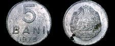Buy 1975 Romanian 5 Bani World Coin - Romania