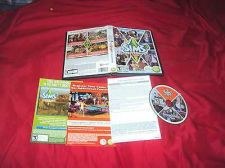 Buy The Sims 3 UNIVERSITY LIFE PC & MAC 2013 DISC MANUAL INSERTS ART & CASE NRMNT/MN