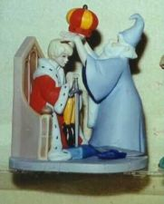 Buy Arthur and wizard Merlin Sword in the Stone Disney Figurine