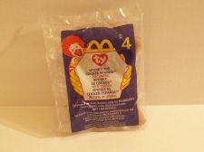 Buy McDonalds Ty Beanie Toy Animal Spunky The Cocker Spaniel #4 in Original Plastic