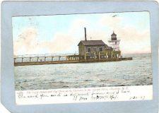 Buy New York Charlotte Lighthouse Postcard Light House & Fog Horn At Entrance ~760