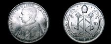 Buy 1967 Vatican City 10 Lire World Coin - Catholic Church Italy