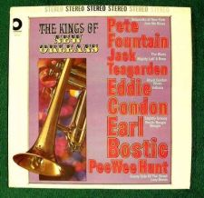 Buy THE KINGS of NEW ORLEANS ~ Fountain / Teagarden / Condon / Bostic Jazz LP