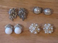 Buy 4 Pairs of Assorted Clip-on Earrings # 9