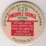 Buy New York Fulton Milk Bottle Cap Name/Subject: Triangle Farms Eze Pineapple~280