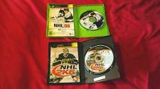 Buy NHL 06 + NHL 2K6 xbox DISCS MANUALS ART & CASES NEAR MINT TO VERY GOOD