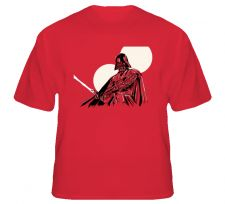Buy Darth Vader in Red T Shirt S to XL