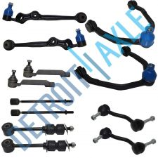Buy NEW 2 Front Upper + 2 Lower Control Arm & Ball Joint + 4 Sway Bar and 4 Tie Rods