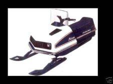 Buy POLARIS ELECTRA & CUSTOM II 2 PARTS MANUALs for 1974 1975 1976 1977 Snowmobiles