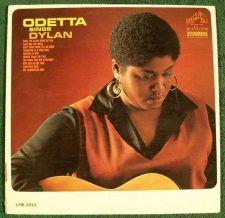 """Buy ODETTA ~ """" Odetta Sings Dylan """" 1965 Folk/Pop LP"""