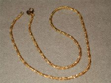 """Buy Sarah Coventry Jewelry..24"""" French Rope Necklace....#1055"""