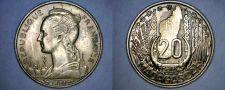 Buy 1953 Madagascar 20 Franc World Coin - France