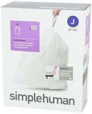 Buy Simplehuman Trash Can Liner Bags Garbage Bin Rubbish Storage Dispenser Pack MINT