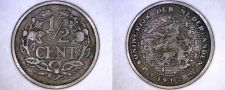 Buy 1912 Netherlands 1/2 Cent World Coin