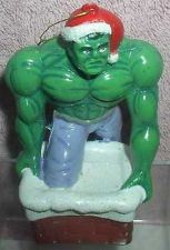 Buy The Incredible Hulk as Santa the Green Giant ornament