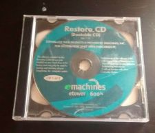 Buy Windows, eMachines 600i PC Computer Bootable Factory Restore CD