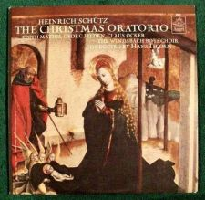 Buy THE CHRISTMAS ORATORIO / Heinrich Schutz Germany LP