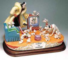 Buy Disney Cruella De Vil 101 Dalmatians Capodimonte Laurenz C.O.A. Original Box