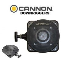 Buy New CANNON Downrigger LOW-PROFILE SWIVEL BASE MOUNTING SYSTEM outdoor fishing