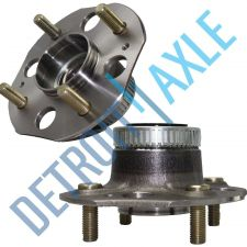 Buy Pair of 2 NEW Rear Driver and Passenger Wheel Hub and Bearing w/ Rear Disc ABS