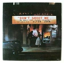 Buy ELTON JOHN ~ Don't Shoot Me, I'm Only The Piano Player 1973 Rock LP