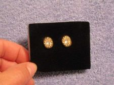 Buy Sarah Coventry Jewelry Dual stone stud earrings (Lumiere Post) #1166